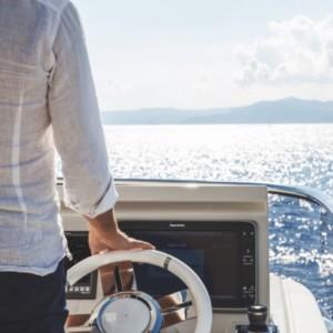 Azimut 72 hajóbérlés az Adrián,  Horvátország,  luxusnyaralás,  Adriai tenger