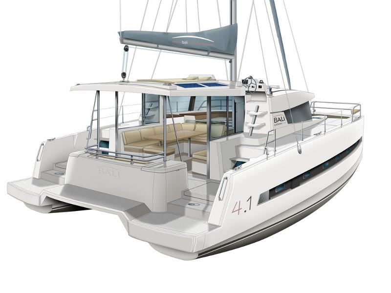Bali 4.1 katamarán bérlés,  katamarán bérlés Horvátországban,  yacht bérlés,  hajóbérlés Adria