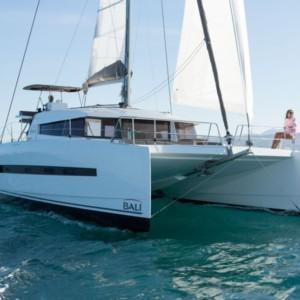 Bali 4.5 katamarán bérlés Horvátországban,  yacht bérlés,  katamarán bérlés,  Adriai tenger