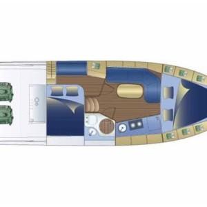 Bavaria 32 Sport motoros hajó bérlés az Adrián,  Horvátország,  Adria,  luxusnyaralás