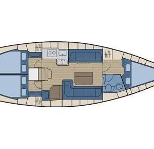 Bavaria 38 Cruiser vitorlás bérlés Horvátországban,  hajóbérlés az Adrián,  Adria,  yacht bérlés