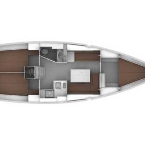 Bavaria Cruiser 36 vitorlás ,  hajóbérlés,  luxusnyaralás,  Horvátország hajóbérlés