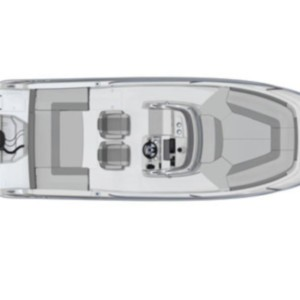 Cap Camarat 7.5 WA SERIE 2 Adria,  luxusnyaralás,  yacht bérlés,  Horvátország hajóbérlés