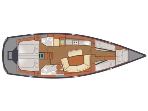 Delphia 47 Horvátország,  yacht bérlés,  hajóbérlés Adria,  vitorlás bérlés