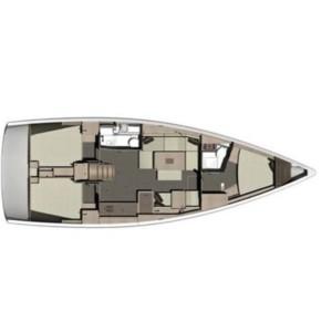 Dufour 412 Grand large vitorlás bérlés Horvátországban,  hajóbérlés az Adrián,  luxusnyaralás,  hajóbérlés Adria