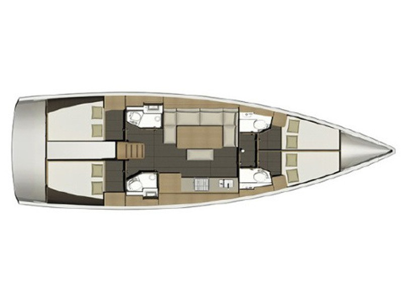 Dufour 460 Grand Large vitorlás bérlés az Adrián,  hajóbérlés,  Adria,  vitorlás bérlés