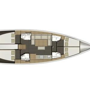 Dufour 460 Grand Large hajóbérlés,  Horvátország hajóbérlés,  hajóbérlés Horvátország,  hajóbérlés Adria