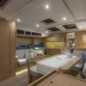 Dufour 460 Grand Large vitorlás ,  luxusnyaralás,  hajóbérlés Adria,  Adriai tenger