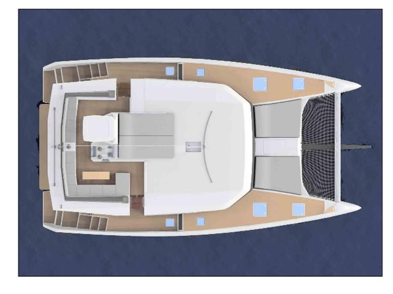 Dufour Catamaran 48 katamarán bérlés Horvátországban,  hajóbérlés,  Adria,  hajóbérlés Horvátország