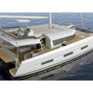 Dufour Catamaran 48 katamarán bérlés Horvátországban,  hajóbérlés az Adrián,  hajóbérlés,  Adriai tenger