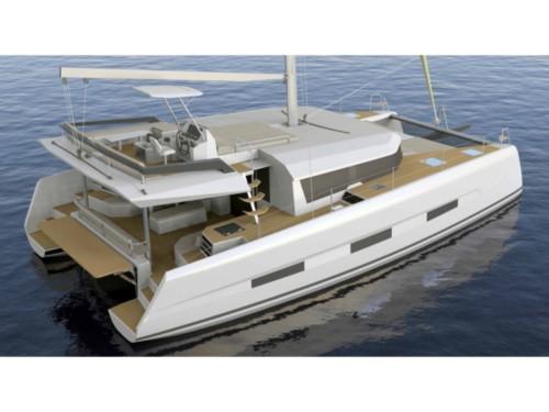 Dufour Catamaran 48 katamarán ,  hajóbérlés Horvátország,  katamarán bérlés,  Adriai tenger