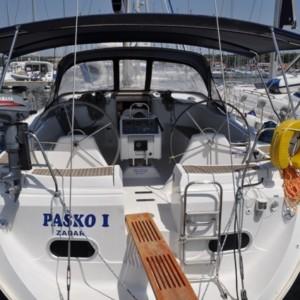 Gib Sea 51 vitorlás bérlés,  vitorlás bérlés az Adrián,  Horvátország hajóbérlés,  hajóbérlés Adria