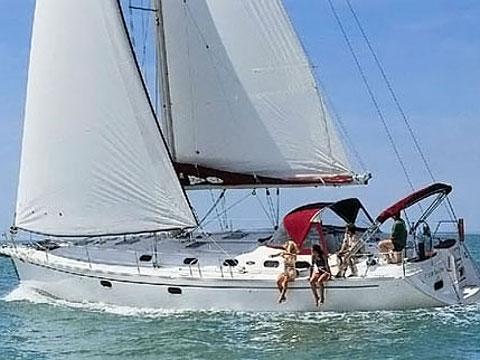 Gib Sea 51 vitorlás ,  vitorlás bérlés Horvátországban,  vitorlás bérlés az Adrián,  Horvátország