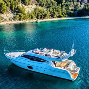 Ferretti 620 Horvátország,  hajóbérlés,  Adria,  yacht bérlés