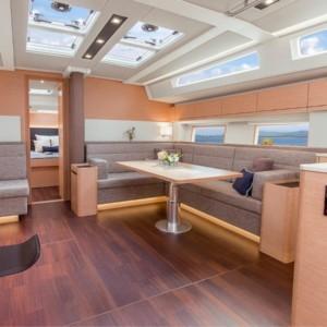 Hanse 548 vitorlás ,  Adria,  luxusnyaralás,  yacht bérlés