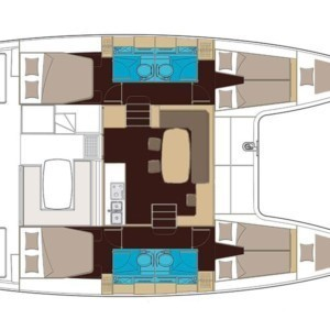 Lagoon 400 S2 katamarán bérlés Horvátországban,  hajóbérlés az Adrián,  hajóbérlés,  Adria