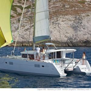 Lagoon 400 S2 Horvátország,  yacht bérlés,  hajóbérlés Horvátország,  hajóbérlés Adria