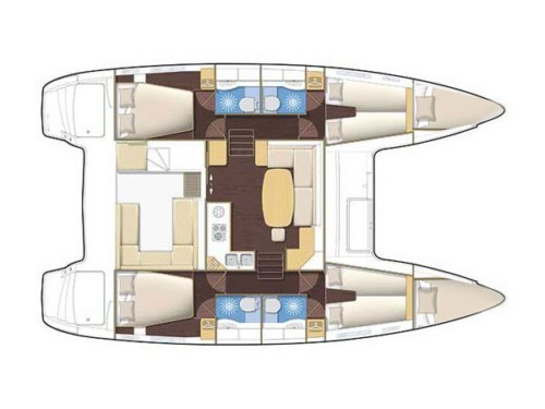 Lagoon 400 S2 hajóbérlés az Adrián,  hajóbérlés,  hajóbérlés Adria,  katamarán bérlés