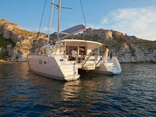 Lagoon 400 S2 katamarán bérlés az Adrián,  Horvátország,  katamarán bérlés,  Adriai tenger
