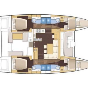 Lagoon 450 Horvátország,  luxusnyaralás,  Horvátország hajóbérlés,  hajóbérlés Horvátország
