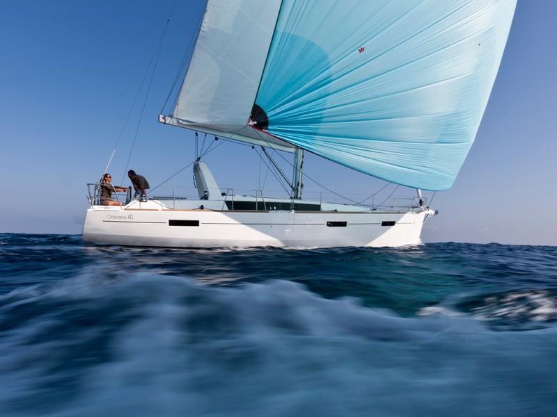 Oceanis 41 vitorlás bérlés Horvátországban,  hajóbérlés az Adrián,  yacht bérlés,  Adriai tenger