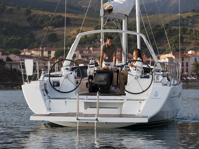 Oceanis 41 vitorlás bérlés,  hajóbérlés,  Horvátország hajóbérlés,  hajóbérlés Horvátország
