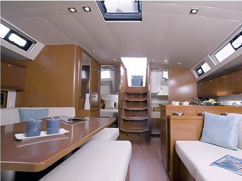 Oceanis 45 vitorlás bérlés Horvátországban,  hajóbérlés az Adrián,  Horvátország,  yacht bérlés