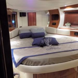 Pershing 50 Horvátország,  hajóbérlés,  yacht bérlés,  motoros hajó bérlés
