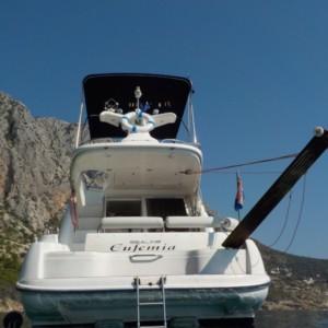 Sealine F33 Fly motoros hajó bérlés Horvátországban,  Horvátország,  yacht bérlés,  motoros hajó bérlés
