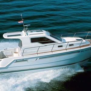 Vektor 950 motoros hajó bérlés,  motoros hajó bérlés Horvátországban,  hajóbérlés az Adrián,  Horvátország