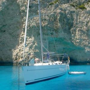 Cyclades 50.5 vitorlás bérlés,  vitorlás bérlés az Adrián,  hajóbérlés Adria,  vitorlás bérlés