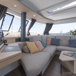 Saona 47 Quintet Horvátország,  hajóbérlés,  yacht bérlés,  hajóbérlés Adria