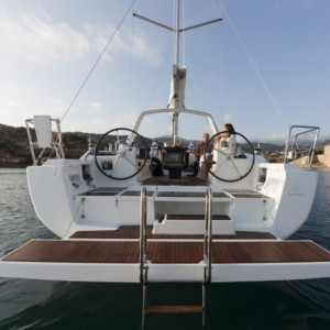 Oceanis 41 vitorlás ,  luxusnyaralás,  hajóbérlés Adria,  vitorlás bérlés